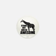 Awesome Giraffe Mini Button (100 pack)