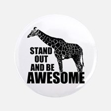 "Awesome Giraffe 3.5"" Button"