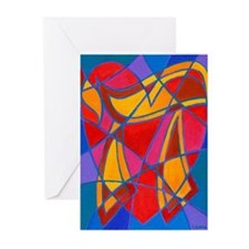 Life and Heart Greeting Cards (Pk of 10)