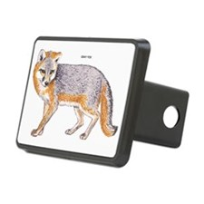 Gray Fox Animal Hitch Cover
