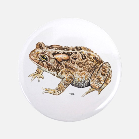 """Toad Animal 3.5"""" Button"""