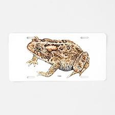 Toad Animal Aluminum License Plate