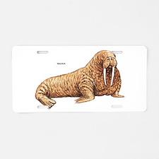 Walrus Animal Aluminum License Plate
