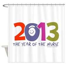 2013 - Year of the Nurse Shower Curtain