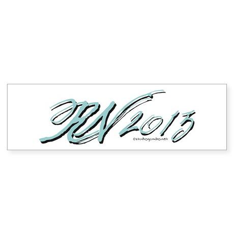 RN 2013 Graduate Sticker (Bumper)