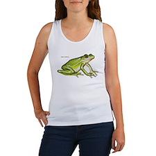 Green Treefrog Frog Women's Tank Top