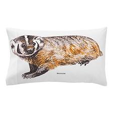Badger Animal Pillow Case