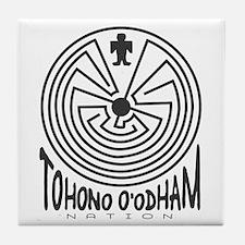 Tohono O'Odham Nation Tile Coaster