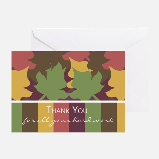 Business Thank You Greeting Card (Pk of 20)