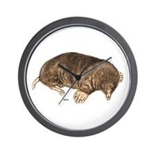 Mole Animal Wall Clock