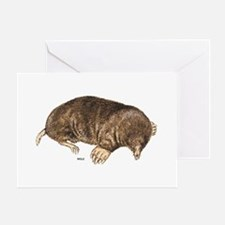 Mole Animal Greeting Card