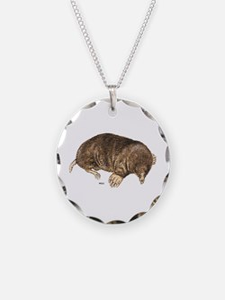 Mole Animal Necklace