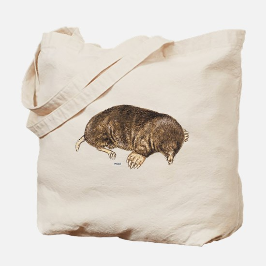 Mole Animal Tote Bag