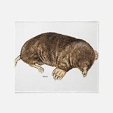 Mole Animal Throw Blanket