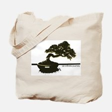 the leaning bonsai  Tote Bag