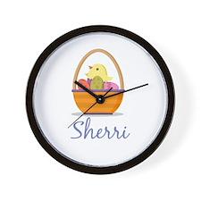 Easter Basket Sherri Wall Clock