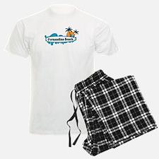 Fernandina Beach - Surf Design. Pajamas