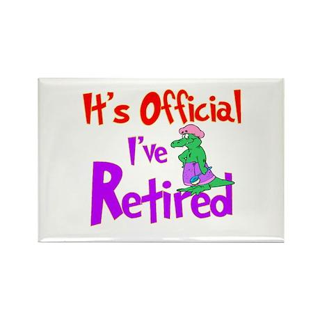 Retirement Fun! Rectangle Magnet