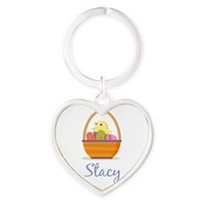 Easter Basket Stacy Keychains