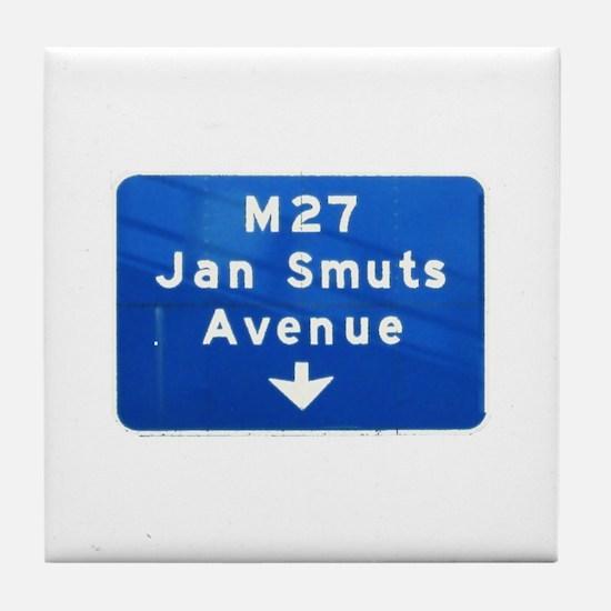 Jan Smuts Avenue Tile Coaster