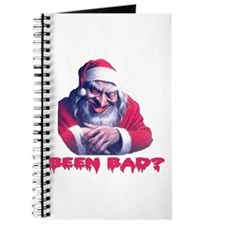 SCARY SANTA ... BEEN BAD? Journal