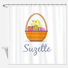 Easter Basket Suzette Shower Curtain