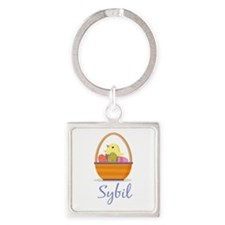 Easter Basket Sybil Keychains