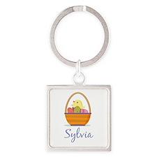 Easter Basket Sylvia Keychains