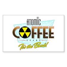 Atomic Coffee Decal
