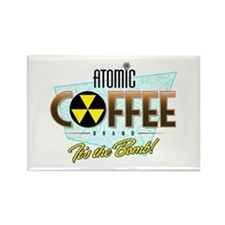 Atomic Coffee Rectangle Magnet