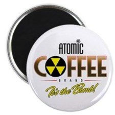 Atomic Coffee Magnet