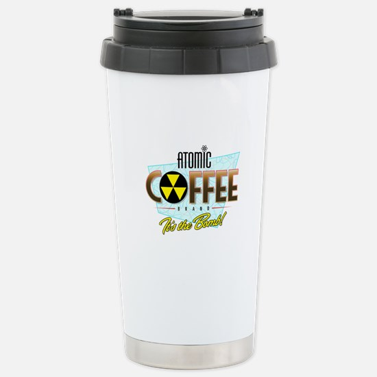 Atomic Coffee Stainless Steel Travel Mug