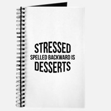 Stressed Spelled Backward Is Desserts Journal
