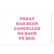 Today Has Been Cancelled Postcards (Package of 8)