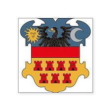 Transylvania Coat of Arms Rectangle Sticker