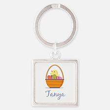 Easter Basket Tanya Keychains