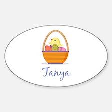 Easter Basket Tanya Decal