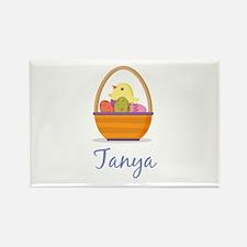 Easter Basket Tanya Rectangle Magnet