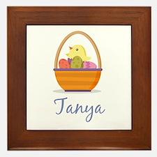 Easter Basket Tanya Framed Tile