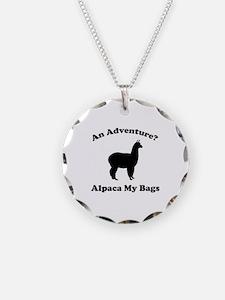 An Adventure? Alpaca My Bags Necklace