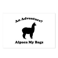 An Adventure? Alpaca My Bags Postcards (Package of