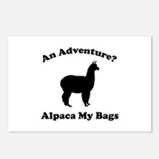 An Adventure? Alpaca My Bags Postcards (Package of