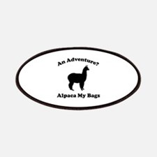 An Adventure? Alpaca My Bags Patches