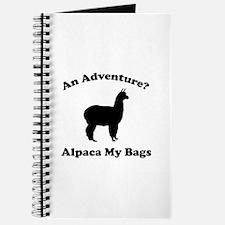 An Adventure? Alpaca My Bags Journal