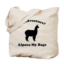 An Adventure? Alpaca My Bags Tote Bag