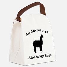 An Adventure? Alpaca My Bags Canvas Lunch Bag