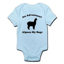 An Adventure? Alpaca My Bags Infant Bodysuit
