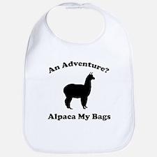 An Adventure? Alpaca My Bags Bib