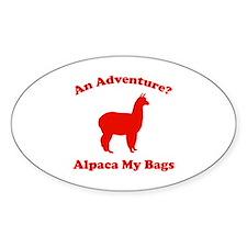 An Adventure? Alpaca My Bags Decal