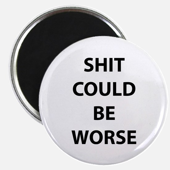 Shit Could Be Worse Magnet